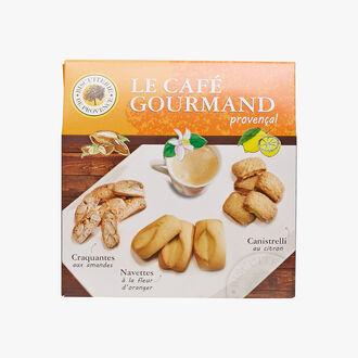 Le café gourmand provençal Biscuiterie de Provence