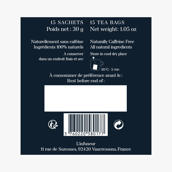 Infusion N°4, 15 sachets L'Infuseur