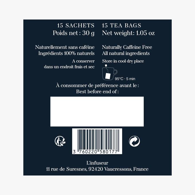 Infusion N°4, 15 tea bags L'Infuseur