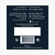 Infusion N°5, 15 tea bags L'Infuseur