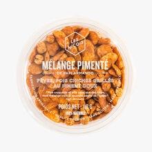 Mélange pimenté de papi Armando - Fèves, pois chiches grillés au piment doux Les Niçois
