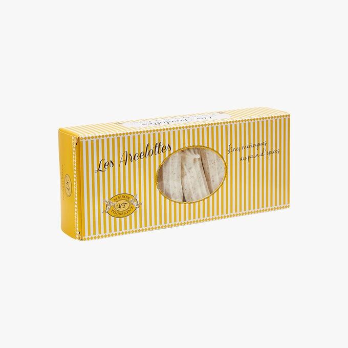 Les Arcelottes - Fines meringues au pain d'épices Maison Toussaint