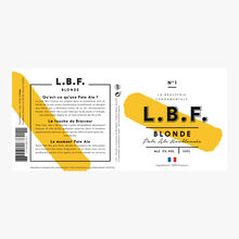 Bière Blonde La Brasserie Fondamentale