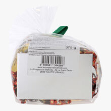 Malakoff chocolate papillotes and fruit jelly Le Comptoir de Mathilde
