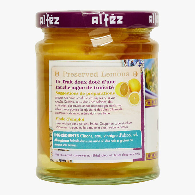 Lemon confits Al'fez