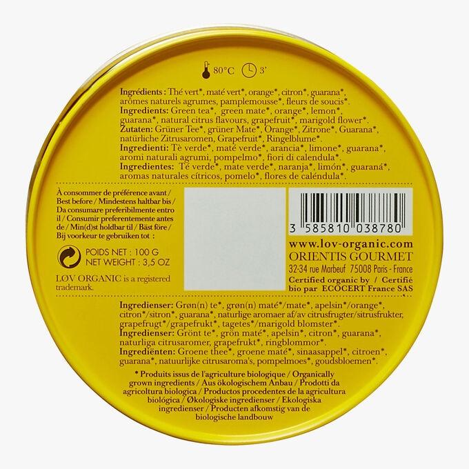 Lovely Morning boîte métal Lov Organic