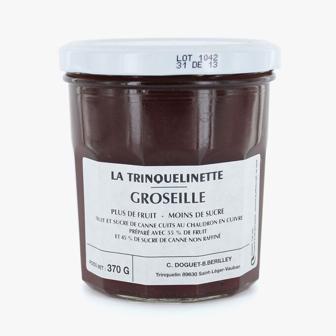 Redcurrant jam La Trinquelinette