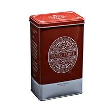 Tagliatelle - nids nature - boîte métal rouge brique Pâtes Fabre
