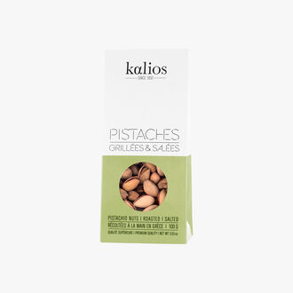 Toasted and salted pistachio nuts Kalios