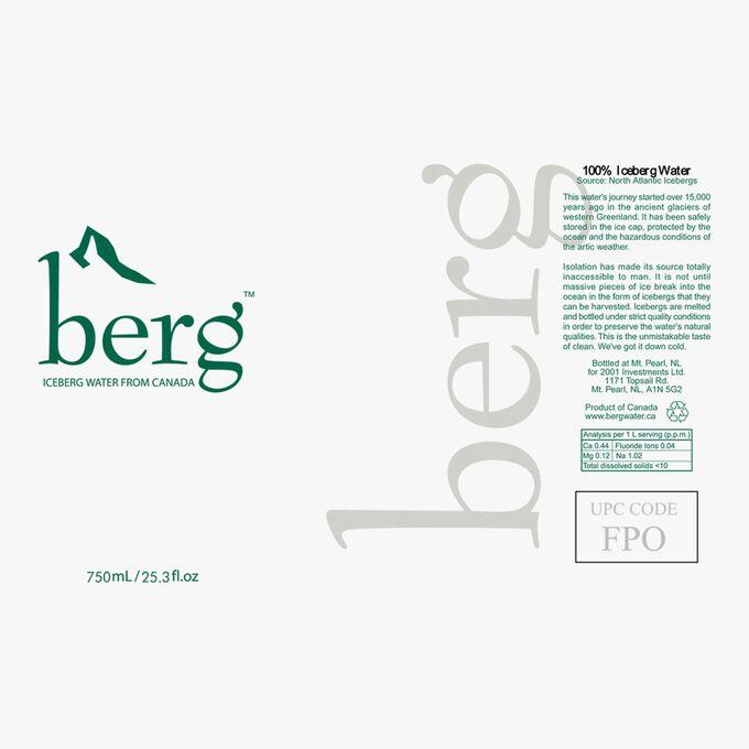 Berg, eau plate d'Iceberg Iceberg Water