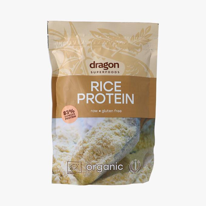 Poudre de protéine de riz bio Dragon Superfood