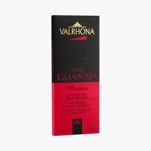 Guanaja bar, dark chocolate (70 % minimum cocoa, pure cocoa butter) Valrhona