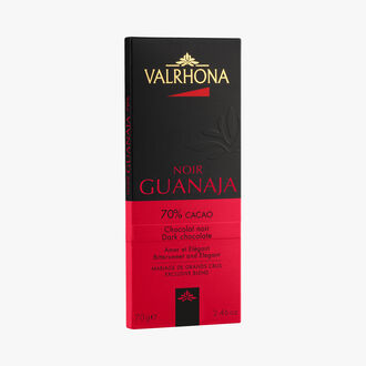 Guanaja bar, dark chocolate (70 % minimum cocoa, pure cocoa butter) Valrhona