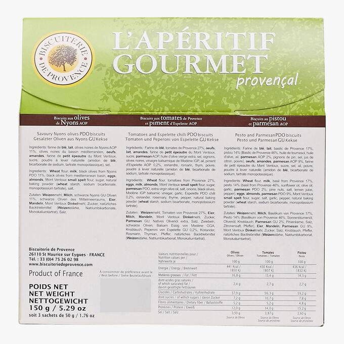 L'apéritif gourmet provençal Biscuiterie de Provence