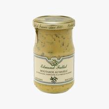 Moutarde au basilic Fallot
