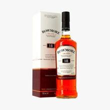Whisky Bowmore, 18 years old, étui Bowmore