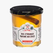 Miel d'oranger parfumé aux épices Albert Ménès