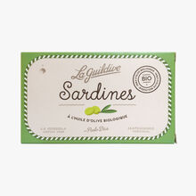 Sardines in organic olive oil  La Guildive