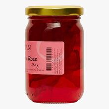 Préparation sucrée à base de pétales de rose Confiserie Florian