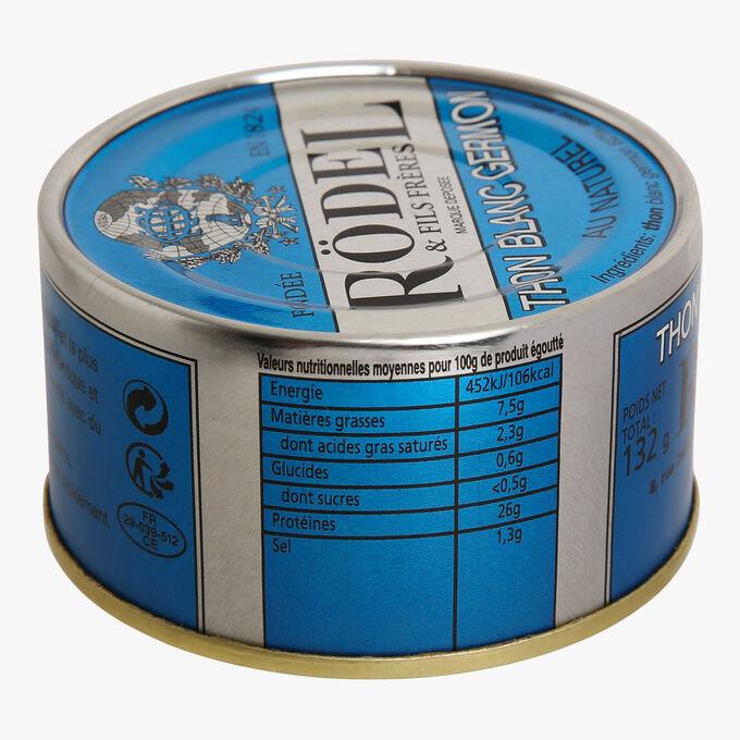 Albacore tuna in brine Rödel