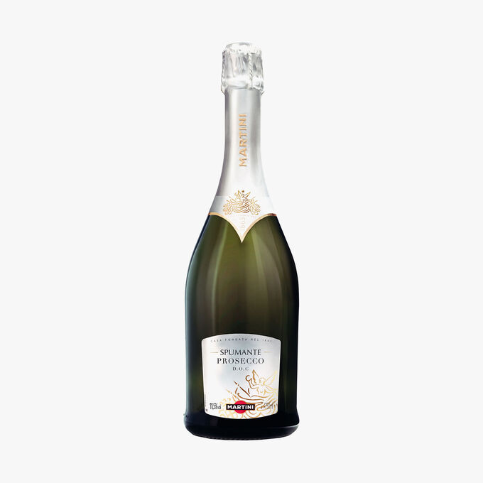 Prosecco sparkling wine Martini