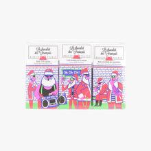 Trio of Organic Christmas bars   Le Chocolat des Français