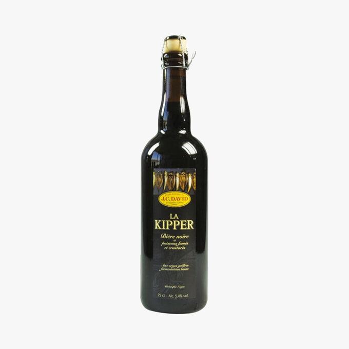 Bière noire La Kipper Christophe Noyon