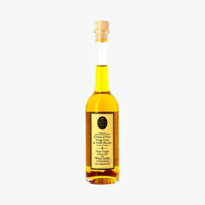 Huile d'olive vierge extra de Truffe Blanche (0,1 %) et d'arômes (Tuber magnatum pico) Maison de la Truffe