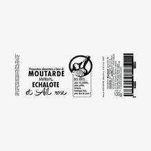 Moutarde saveur échalote et ail rose Savor & Sens