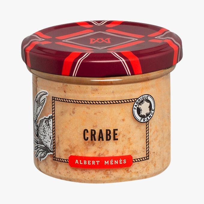 Rillettes de crabe Albert Ménès
