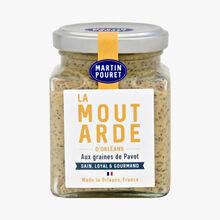 Moutarde d'Orléans aux graines de Pavot Martin Pouret