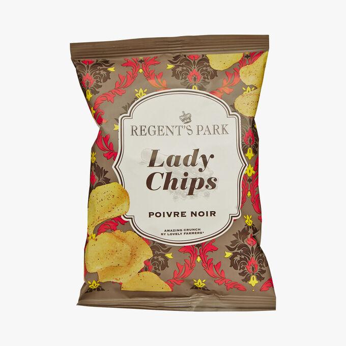 Black pepper crisps Regent's Park