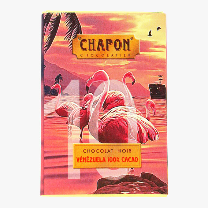 Chocolat noir Venezuela 100% cacao Chapon