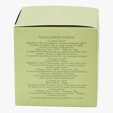 Tisane Jardin d'Hiver - Boîte de 25 sachets Dammann Frères