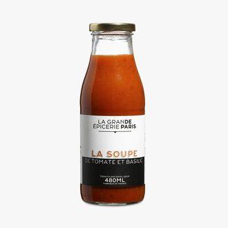 Soupe de tomate et basilic La Grande Épicerie de Paris