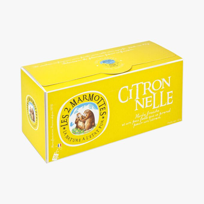 Lemongrass infusion Les 2 Marmottes