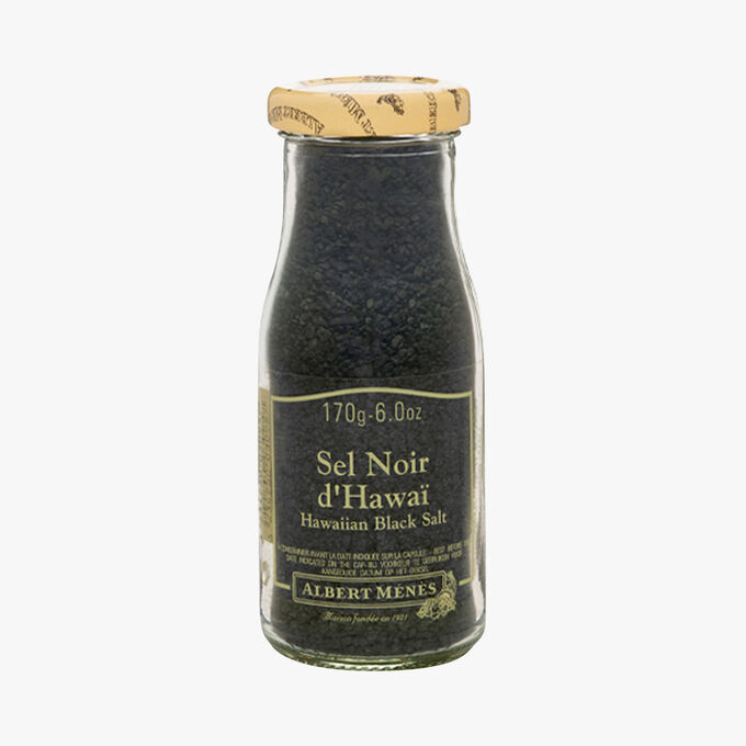 Hawaiian black salt Albert Ménès