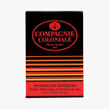 Tropical Rooibos - Orange, red fruit & pieces of coconut Compagnie Coloniale