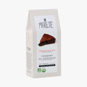 Organic mix for chocolate fondant Marlette