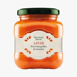 Ajvar, grilled peppers and tomatoes Granny's Secret