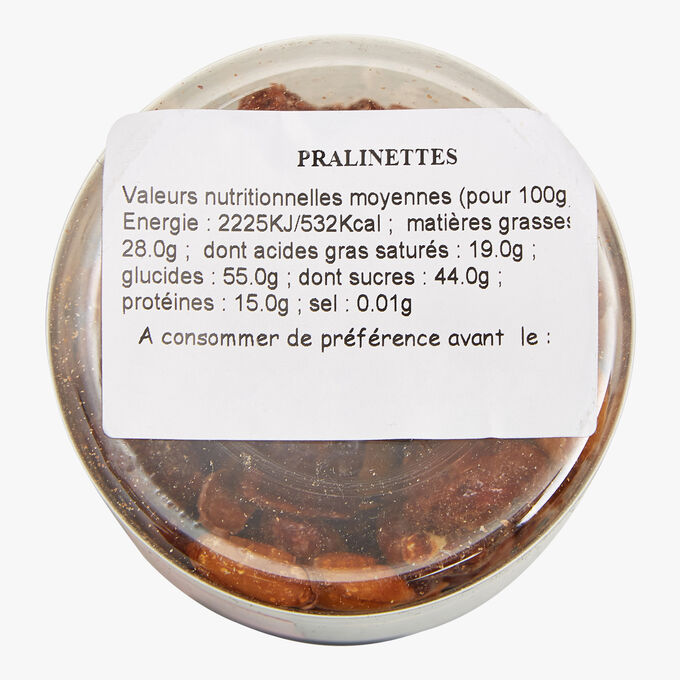 Pralinettes - Caramel coated peanuts Maison Taillefer