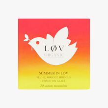 Summer in Lov, tin of 20 sachets Lov Organic