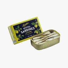 Petites sardines au citron et à l'huile d'olive La Guildive