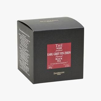 Earl Grey Yin Zhen flavoured black tea - Box of 50 teabags Dammann Frères