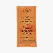 Chocolat noir - Écorces d'oranges confites Dolfin