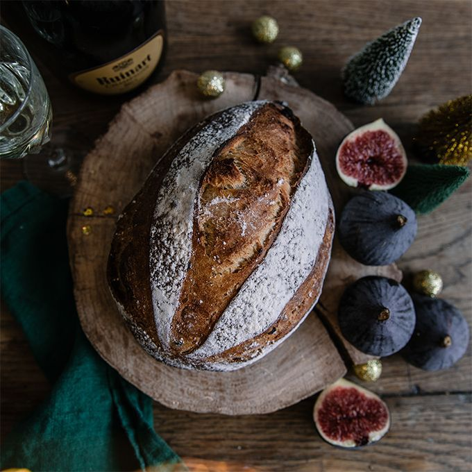 Fig bread Recette proposée par La Grande Épicerie de Paris