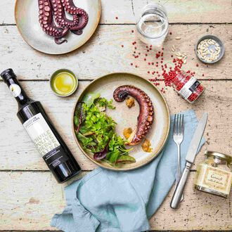 Roman-style octopus and artichokes Recipe from La Grande Epicerie de Paris