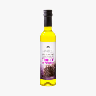 Extra virgin olive oil and natural extract of Périgord truffle A l'Olivier