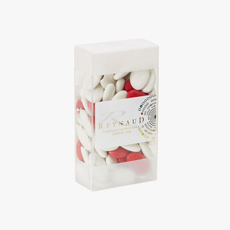 Chocolate chewy sweets Cacao 70 % - Blanc - Rouge Cocoa 70% - White - Red - Reynaud