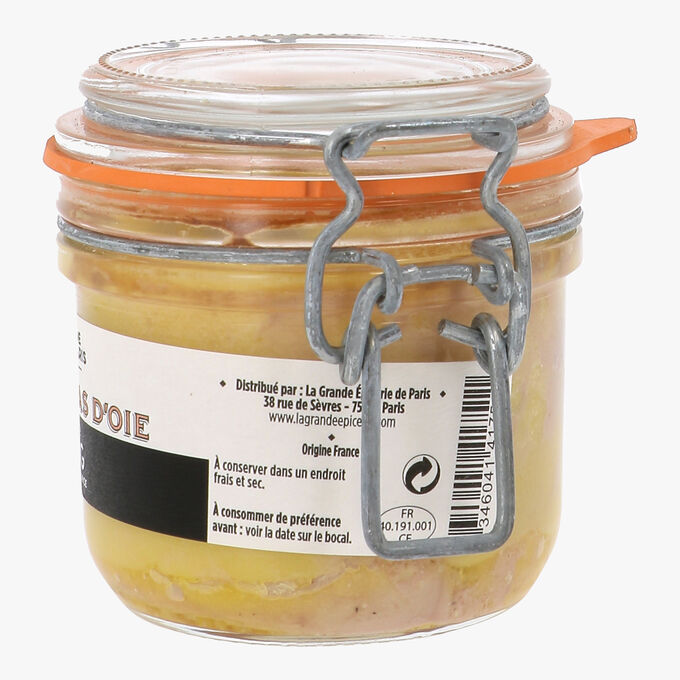 Whole goose foie gras La Grande Épicerie de Paris